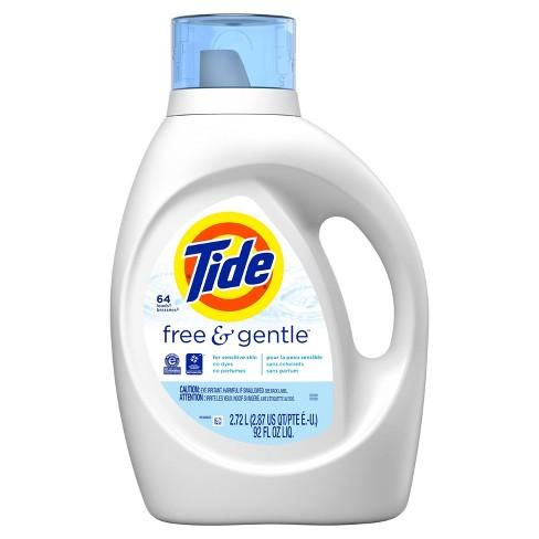 Tide Free & Gentle High Efficiency Liquid Laundry Detergent - image 1 of 4