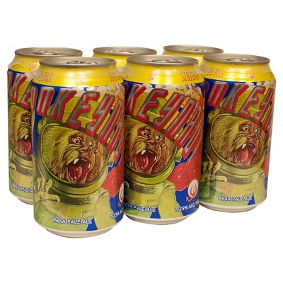 Straight to Ale Monkeynaut IPA Beer - 6pk/12 fl oz Cans