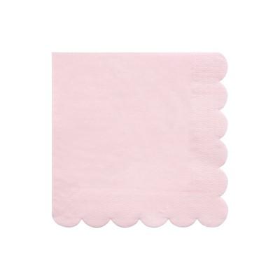 Meri Meri Pale Pink Large Napkins