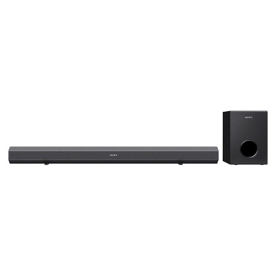 Sony Bluetooth Sound Bar with Subwoofer - Black (HTCT80)