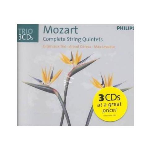 Monsaingeon - Mozart:Complete String Quintets (CD) - image 1 of 1