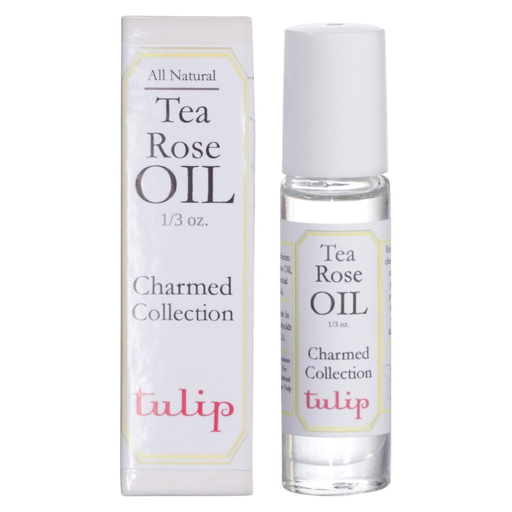 Image of Women's Charmed Tea Rose by Tulip Perfume Oil - 0.33 oz