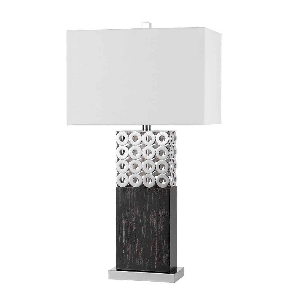 Image of 150W 3 Way Jesi Laser Cut Metal Table Lamp (Lamp Only) - Cal Lighting, Multi-Colored