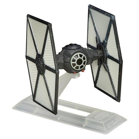 Star Wars: The Force Awakens Black Series Titanium First Order TIE Fighter - image 1 of 2