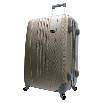 Traveler's Choice Toronto 25  Expandable Hardside Spinner Suitcase - Gold