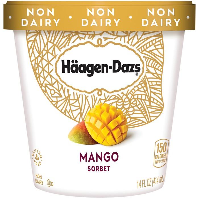 Haagen-Dazs Mango Frozen Sorbet - 14oz - image 1 of 1