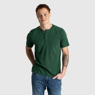 Men's United By Blue Organic Henley T-Shirt