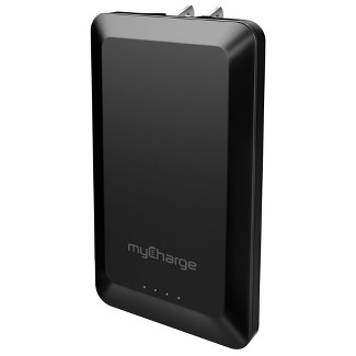 MyCharge 4000mAh Home & Go Power Bank with Lightning Cable - Black