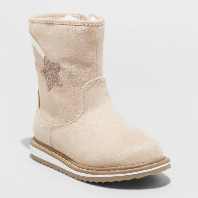 Toddler Girls' Isla Zipper Slip-On Winter Boots - Cat & Jack™