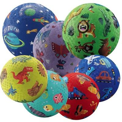 Crocodile Creek Playground Balls  - Set of 7