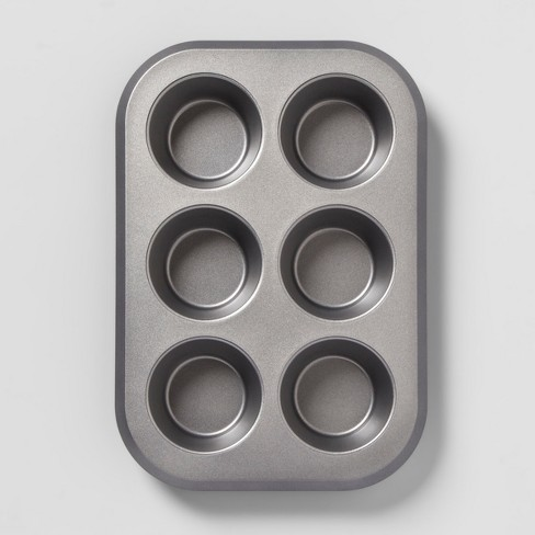 Non-Stick Jumbo Muffin Tin Aluminized Steel - Made By Design™ - image 1 of 3