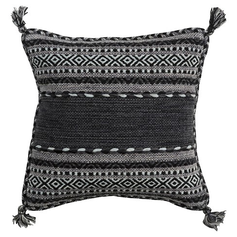 Ganale Tribal Throw Pillow - Surya - image 1 of 1