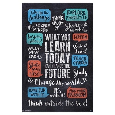 What You Learn Poster 34x22 - Trends International