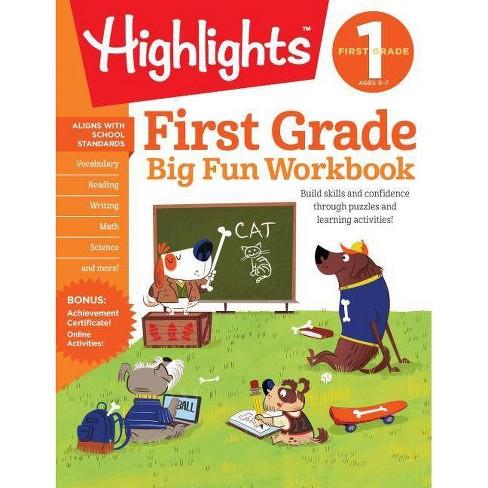 Big Fun 1st Grade Activity Book 10/15/2017 - image 1 of 1
