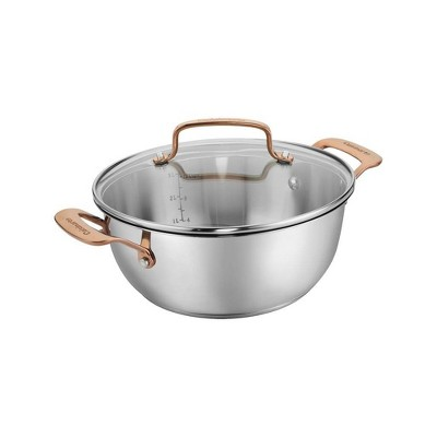 Cuisinart In the Mix 4qt Stainless Steel Come Gather Dutch Oven with Cover