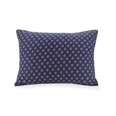 Standard Sedona Medallion Pillow Sham Navy - Vera Bradley