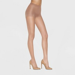 Hanes Premium Women's 2pk Ultra Sheer Light Coverage Pantyhose