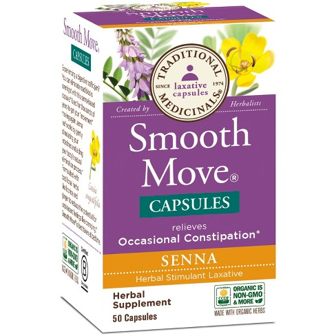 Traditional Medicinals Smooth Move Capsules - 50ct - image 1 of 1