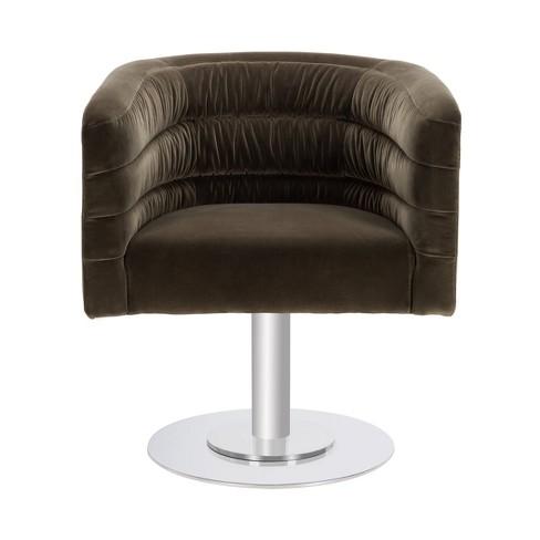 Strange Marie Swivel Tub Chair Giotto Dark Olive Green Safavieh Camellatalisay Diy Chair Ideas Camellatalisaycom