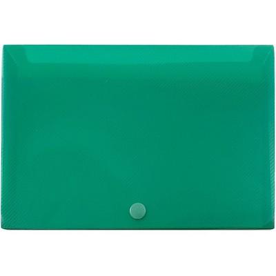 JAM Paper Plastic Index Card Case 8 3/8 x 5 3/4 x 1 3/8 Green 374032788