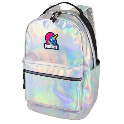 "Fortnite 18"" Stamped Backpack - Iridescent"