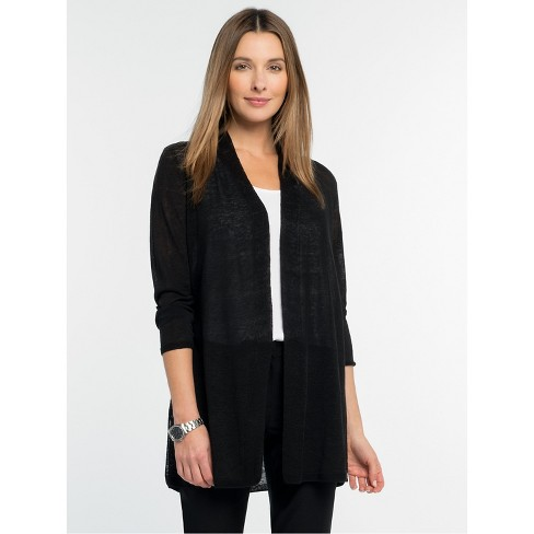 NIC+ZOE Women's Lightweight Long Back of the Chair Cardigan - image 1 of 4