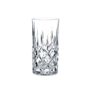 Riedel Vivant Crystal High Ball Glasses 13.2oz - Set of 4, Clear