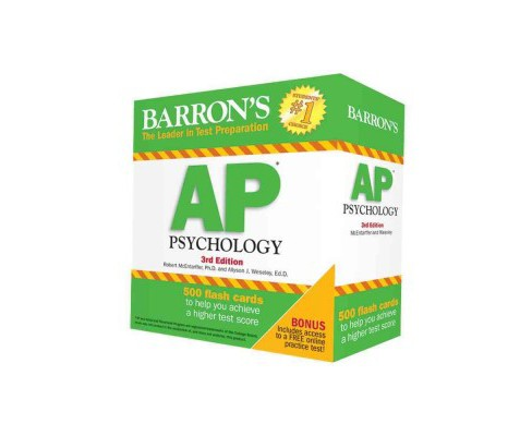 Barron's AP Psychology (Paperback) (Ph.D. Robert McEntarffer & Allyson J. Weseley) - image 1 of 1