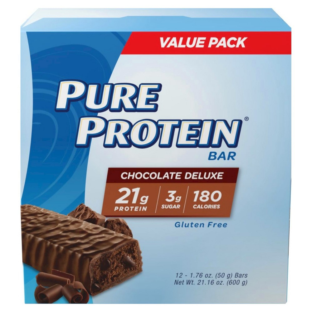 Pure Protein Bar Chocolate Deluxe 12ct