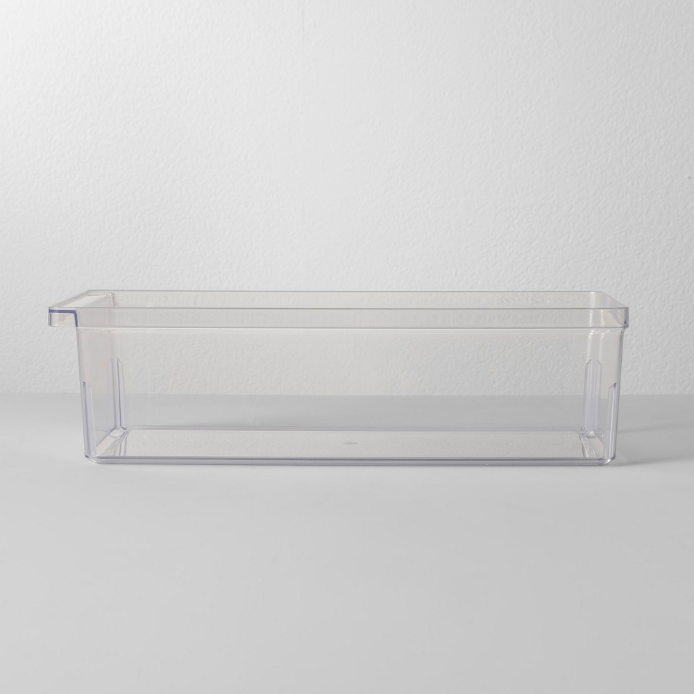 7W X 14.5D X 4H Plastic Kitchen Organizer - Made By Design, Clear