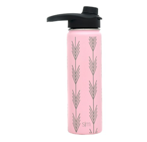 Simple Modern 22oz Summit Stainless Steel Water Bottle Blush Arrows - image 1 of 1