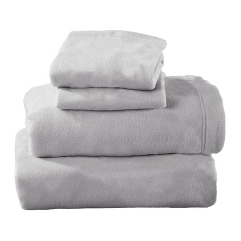 Home Fashion Designs Maya Solid Fleece Sheet Set - image 1 of 4