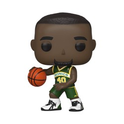 Funko POP! NBA: Seattle Supersonics - Shawn Kemp (ECCC Shared Exclusive)