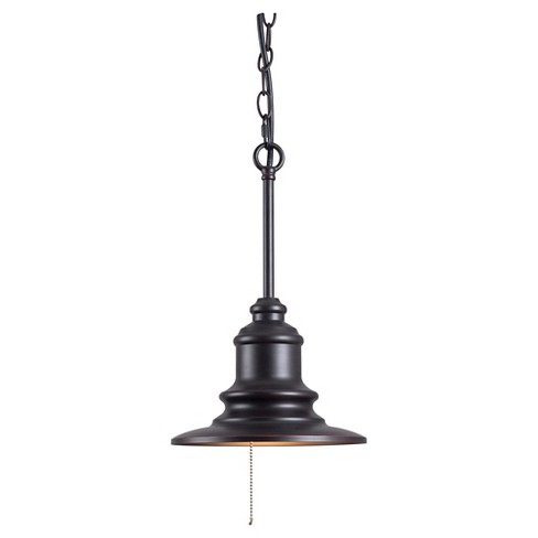 Outdoor Pendant Light Kenroy Bronze Metal - image 1 of 1