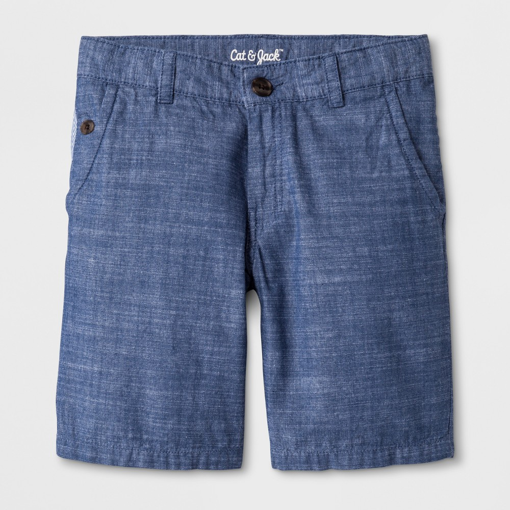 Boys' Chino Shorts - Cat & Jack Blue 8