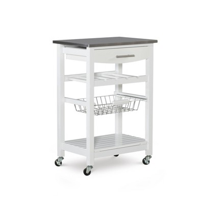Clarke Kitchen Cart - Linon