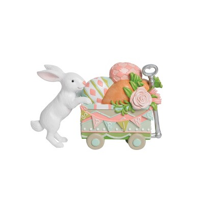 C&F Home Easter Bunny with Easter Eggs Wagon Figure