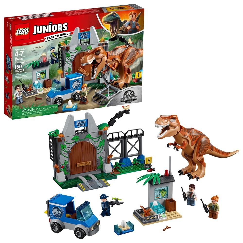 Lego Juniors Jurassic World T. rex Breakout 10758
