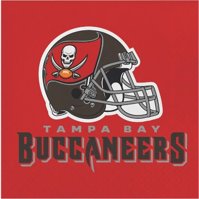 48ct Tampa Bay Buccaneers Football Napkins