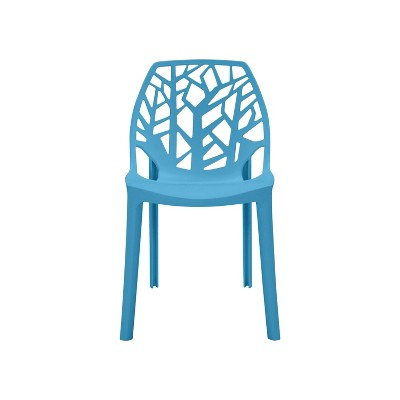 Set of 2 Amir Armless Indoor/Outdoor Modern Dining Chairs - Handy Living