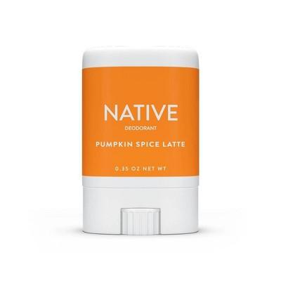 Native Limited Edition Pumpkin Spice Latte Mini Deodorant Trial Size - 0.35oz