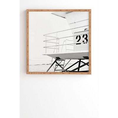 """12"""" x 12"""" Bree Madden Tower 23 Framed Wall Art - Deny Designs"""