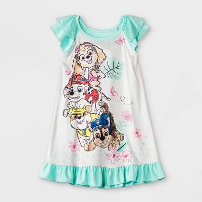 Toddler Girls' PAW Patrol Dorm Nightgown - Green