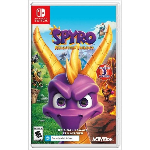 Spyro: Reignited Trilogy - Nintendo Switch - image 1 of 4