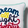 Dream All Night Square Throw Pillow - Pillowfort™ - image 3 of 3