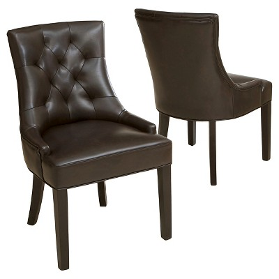 Set of 2 Hayden Tufted Dining Chairs - Christopher Knight Home
