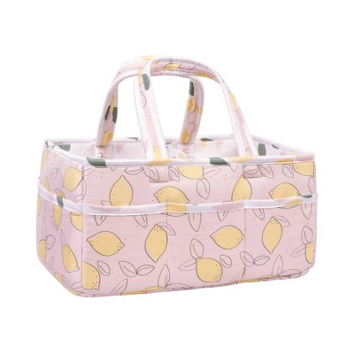 Trend Lab Foldable and Padded Storage Caddy - Lemon Floral