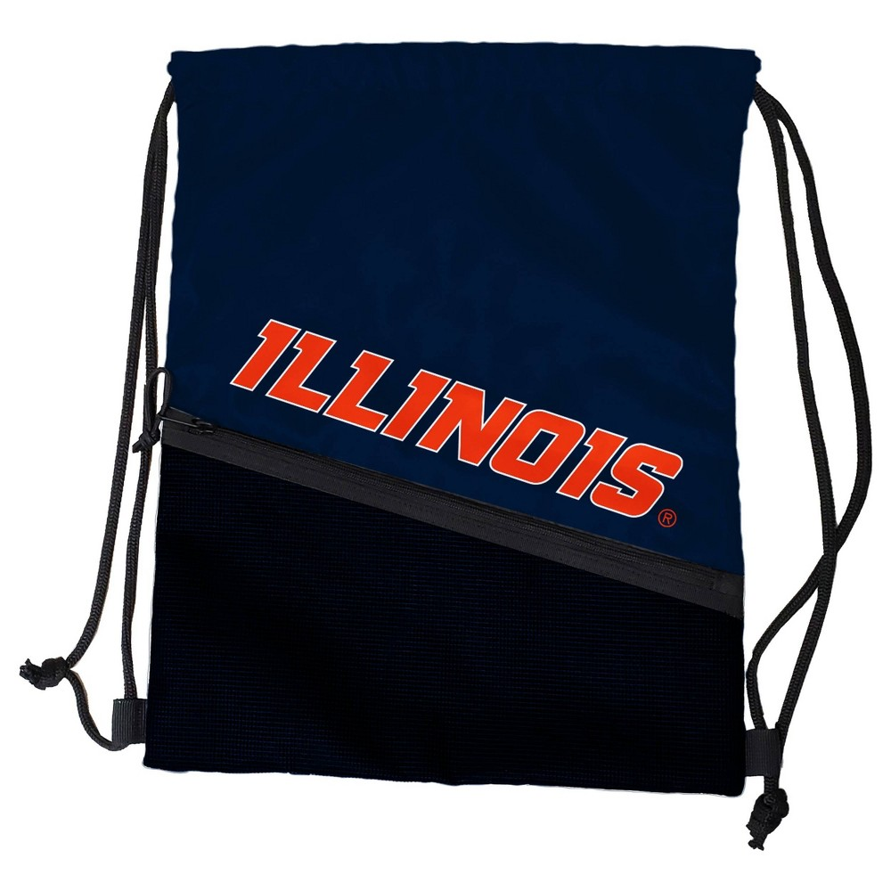 Ncaa Illinois Fighting Illini Tilt Drawstring Bag