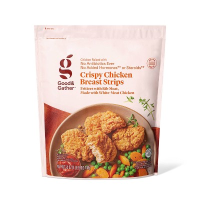 Crispy Chicken Breast Strips - Frozen - 25oz - Good & Gather™