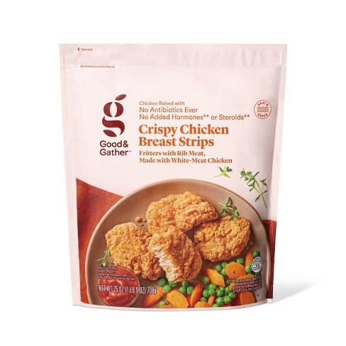 Crispy Chicken Breast Strips - Frozen - 25oz - Good & Gather™ - image 1 of 2